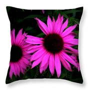 forget me not,because I'm not perfect Throw Pillow