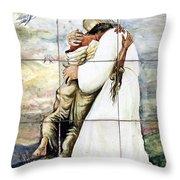 Forgiven Throw Pillow