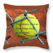 Forgiveness Frees Us Throw Pillow