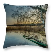 Forgotten And Sunk Throw Pillow by Julis Simo