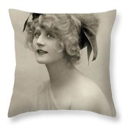 Forgotten Beauty Throw Pillow