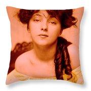 Forgotten Beauty Throw Pillow