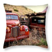 Forgotten Classics Throw Pillow