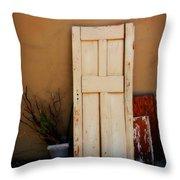 Forgotten Door Throw Pillow
