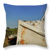 Forgotten Jewel Throw Pillow