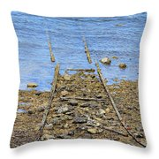 Forgotten Line Throw Pillow