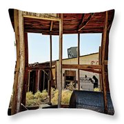 Forgotten Past Throw Pillow