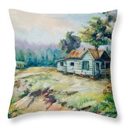Forgotten Places II Throw Pillow