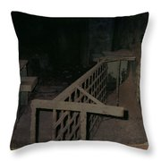 Forgotten Room Throw Pillow