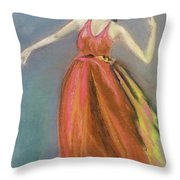 Forgotten Steps Throw Pillow