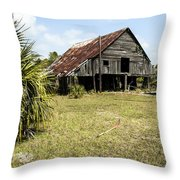 Forgotten Times Throw Pillow