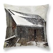 Forgotten Treasures Throw Pillow by Stephanie Calhoun