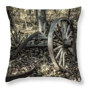 Forgotten Wagon Throw Pillow