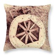Forgotten Work Throw Pillow