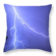 Fork In The Sky Throw Pillow