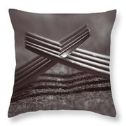 Forking Throw Pillow