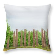 Forks Of Cypress Throw Pillow