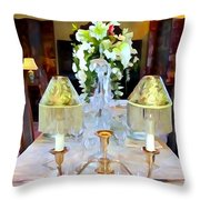 Formal Dining Throw Pillow