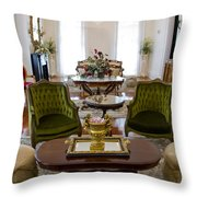 Formal Dining Room Throw Pillow