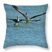 Formate Throw Pillow