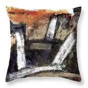 Formation. Abstract World Throw Pillow