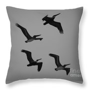 Formation Drills Throw Pillow