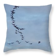 Formation Needs Work Throw Pillow