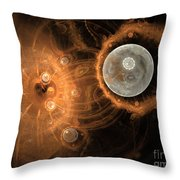 Formation Of New Planets Throw Pillow