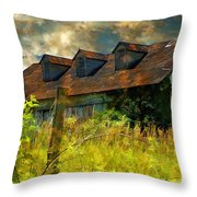 Former Glory Throw Pillow