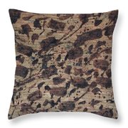 Forms Of Coffee Throw Pillow
