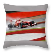 Formula 1 British Grand Prix Throw Pillow