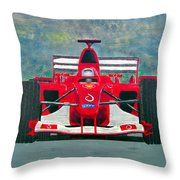 Formula 1 Throw Pillow