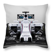 Formula 1 Williams Fw37 Throw Pillow