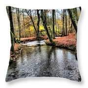 Forrest In The Deep Throw Pillow