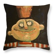 Forrest The Florist Throw Pillow