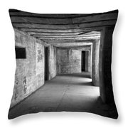Fort Casey 3925 Throw Pillow