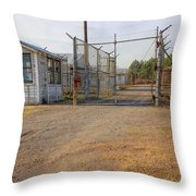 Fort Chaffee Prison Throw Pillow