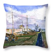 Fort Charlotte, Kingstown Throw Pillow