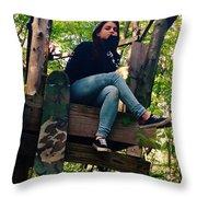 Fort Throw Pillow