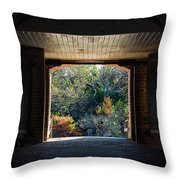Fort Clinch Portal Throw Pillow