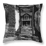 Fort Davis Throw Pillow