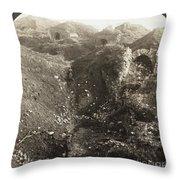 Fort De La Malmaison Throw Pillow