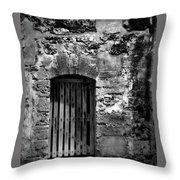 Fort Doorway Throw Pillow