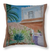 Fort Entrance Throw Pillow