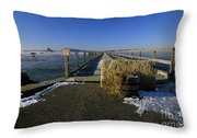 Fort Foster - Kittery Maine Usa Throw Pillow