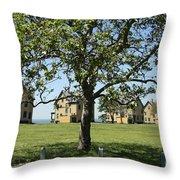 Fort Hancock Throw Pillow