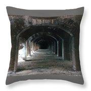 Fort Jefferson 2 Photograph Throw Pillow