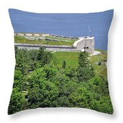 Fort Knox Maine Throw Pillow