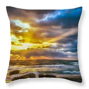 Fort Lauderdale Sunrise Throw Pillow