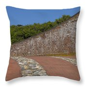 Fort Macon Throw Pillow